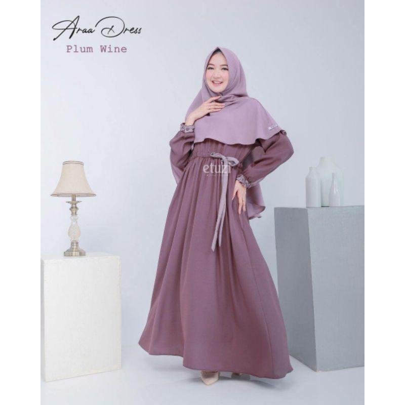 Ara dress set khimar by Etuzi