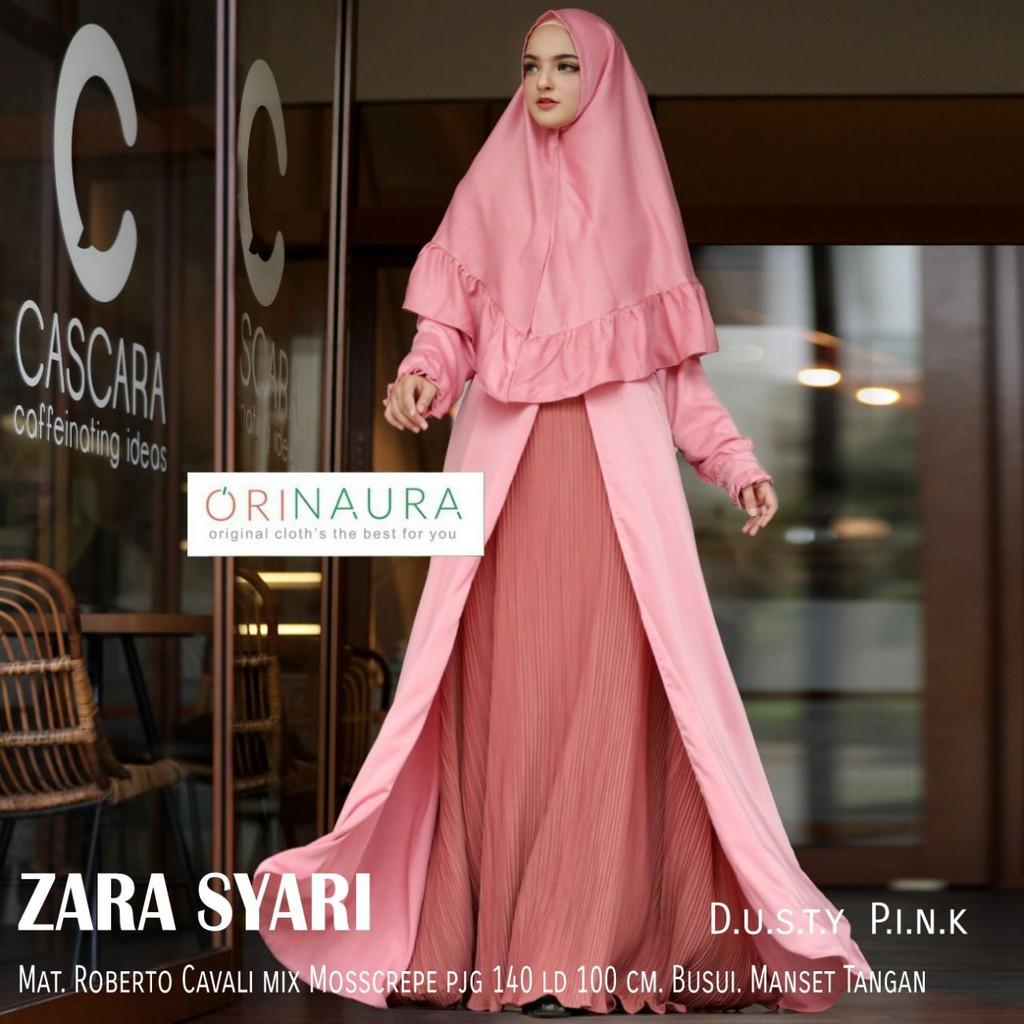 New Baju Gamis Zara Syari by Orinaura - Zyon Syari