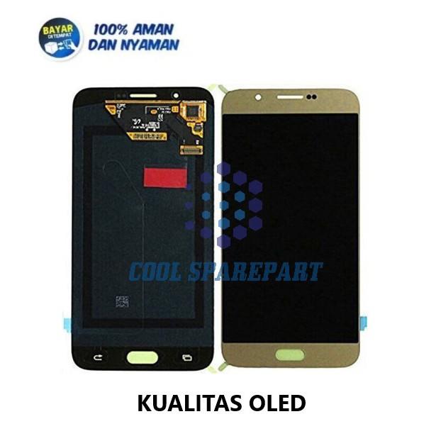 LCD SAMSUNG GALAXY A8 2015 / A800 / A800F / A8000 OLED FULLSET + TOUCHSCREEN   COOL PART