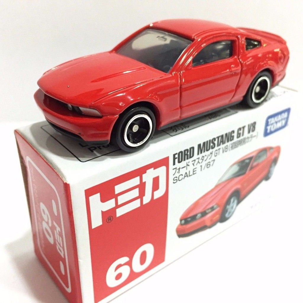 Tomica no 60 ford mustang gt v8 shopee indonesia