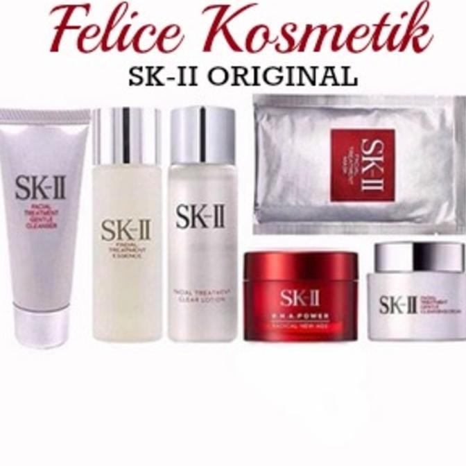 Dijual SK II SK2 SKII Paket Trial Medium BASIC RNA POWER Antiaging Murah | Shopee Indonesia