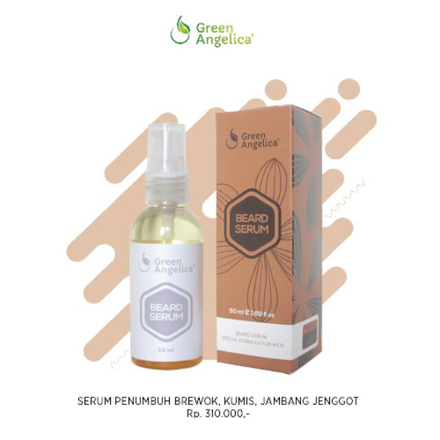 Penumbuh Alis brewok kumis Alami Cepat Beard Serum | Shopee Indonesia