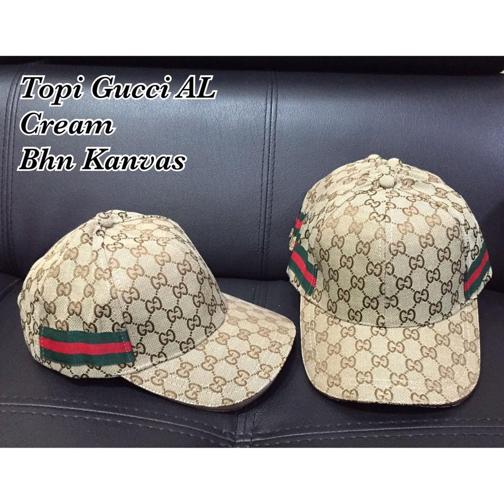 Topi gucci putih import Terbaru  7bd46bc810