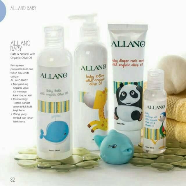 PO untuk beberapa item Allano Baby (Diaper Rash Cream ...