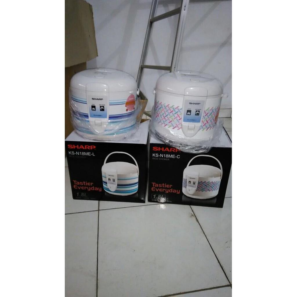 Sharp Rice Cooker 08 Liter Ksp8mywh Shopee Indonesia Apple Ks P8my Wh Putih
