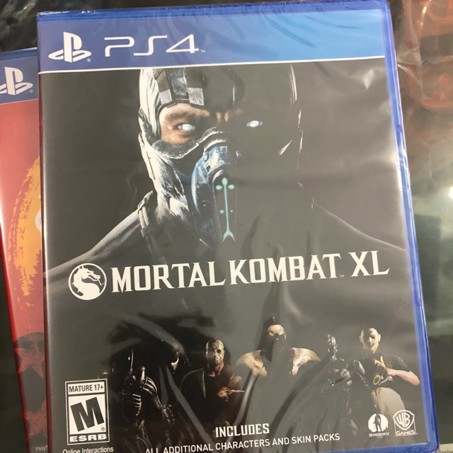 Kaset Ps4 Mortal Kombat Xl Shopee Indonesia