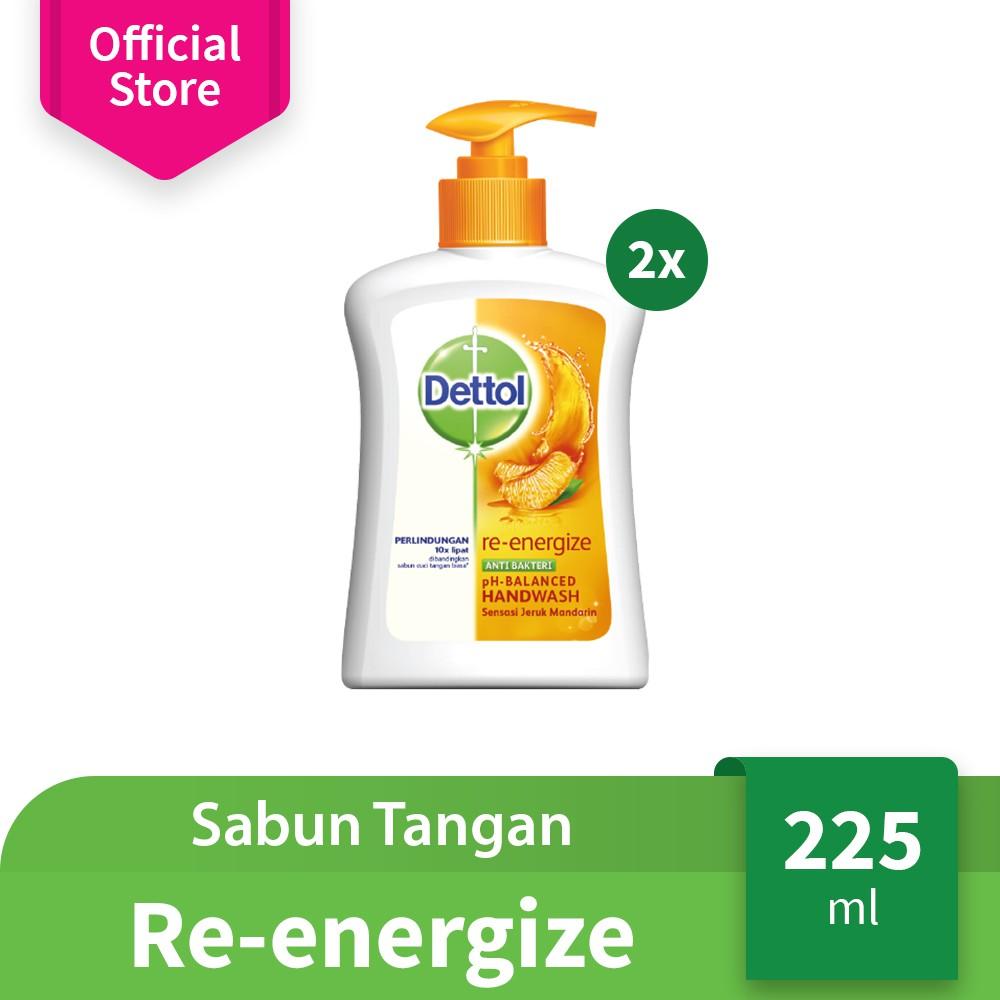 Dettol Sabun Cuci Tangan Skincare Refill 200 mL (2 pcs) | Shopee Indonesia