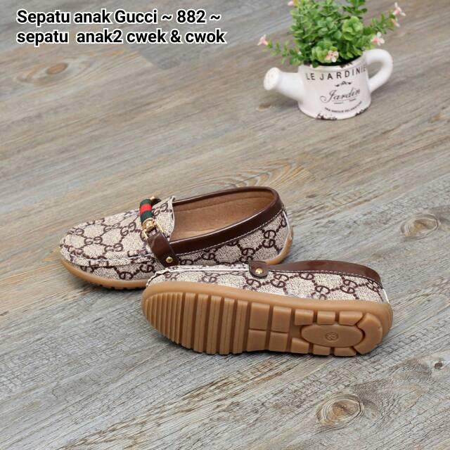 Sepatu Gucci Anak 2 Cewek   Cowok Series 882  8506b67643