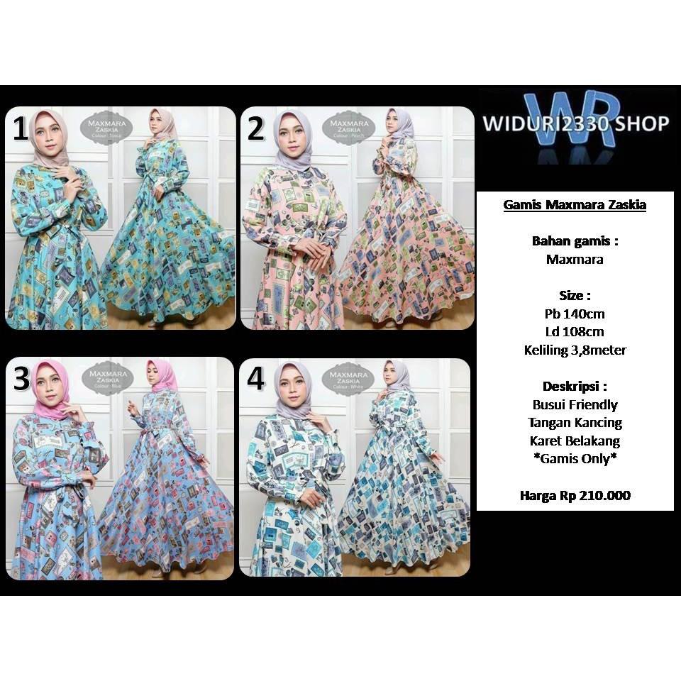 Gamis Maxmara Vania Shopee Indonesia Only