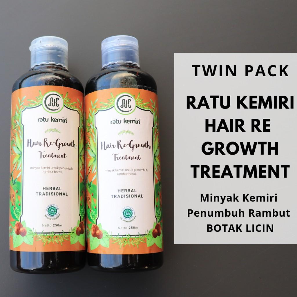 Minyak Kemiri Bakar Ratu Hairloss Treatment Penumbuh Rambut Alkatel Rontok Alami Shopee Indonesia