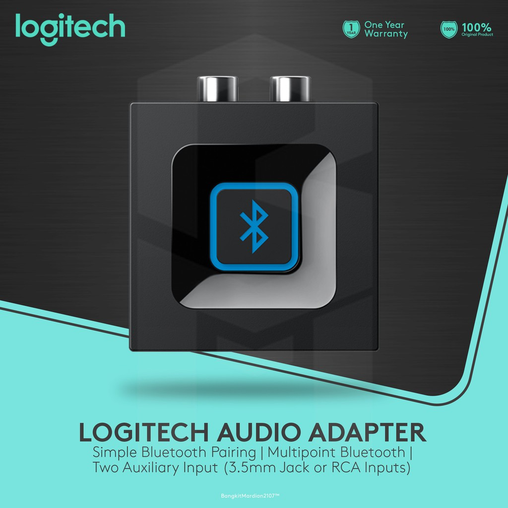 Logitech Bluetooth Audio Adapter Px Music Receiver Btr 1600 Baru Ampamp Garansi 1 Tahun