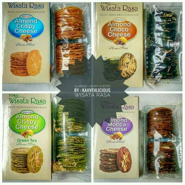 Almond Crispy Cheese Original Wisata Rasa Shopee Indonesia