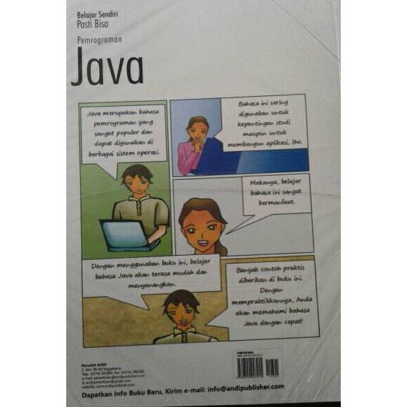 Buku Belajar Sendiri Pasti Bisa Pemrograman Java+cd   Shopee Indonesia