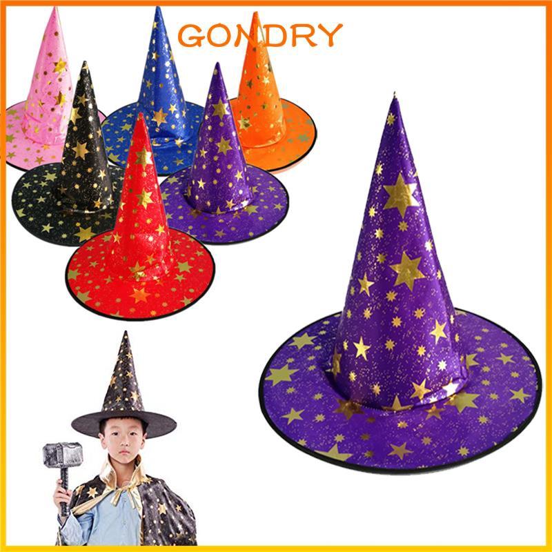 Hallween Cloak Halloween Witch Hat Halloween Wizard Hat Fabric Party Kids Beautiful Cosplay Bar Shopee Indonesia