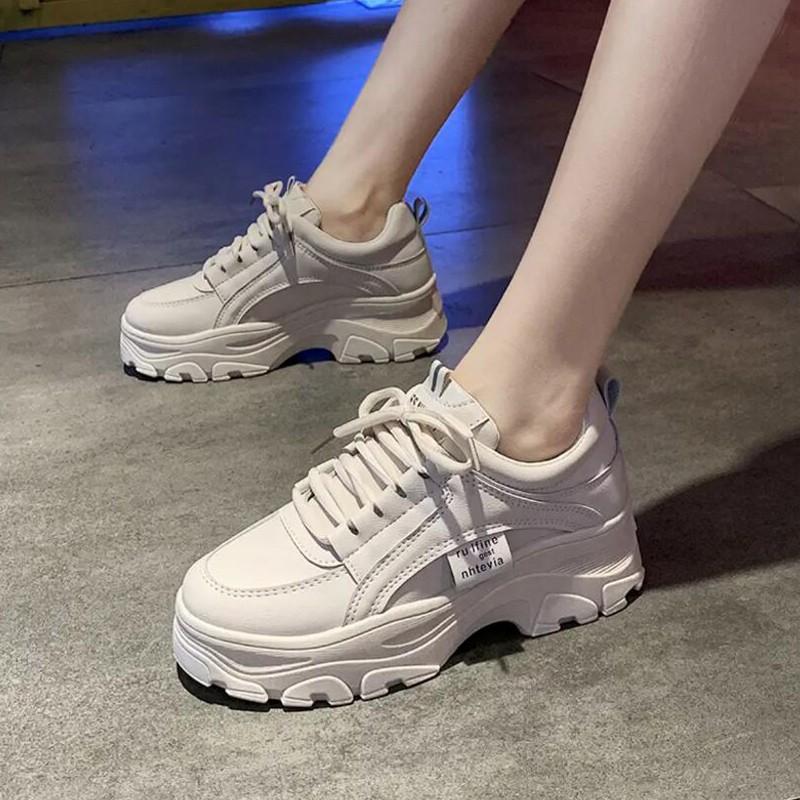 sepatu wanita import Sepatu Hak cewek Platform kekinian ...