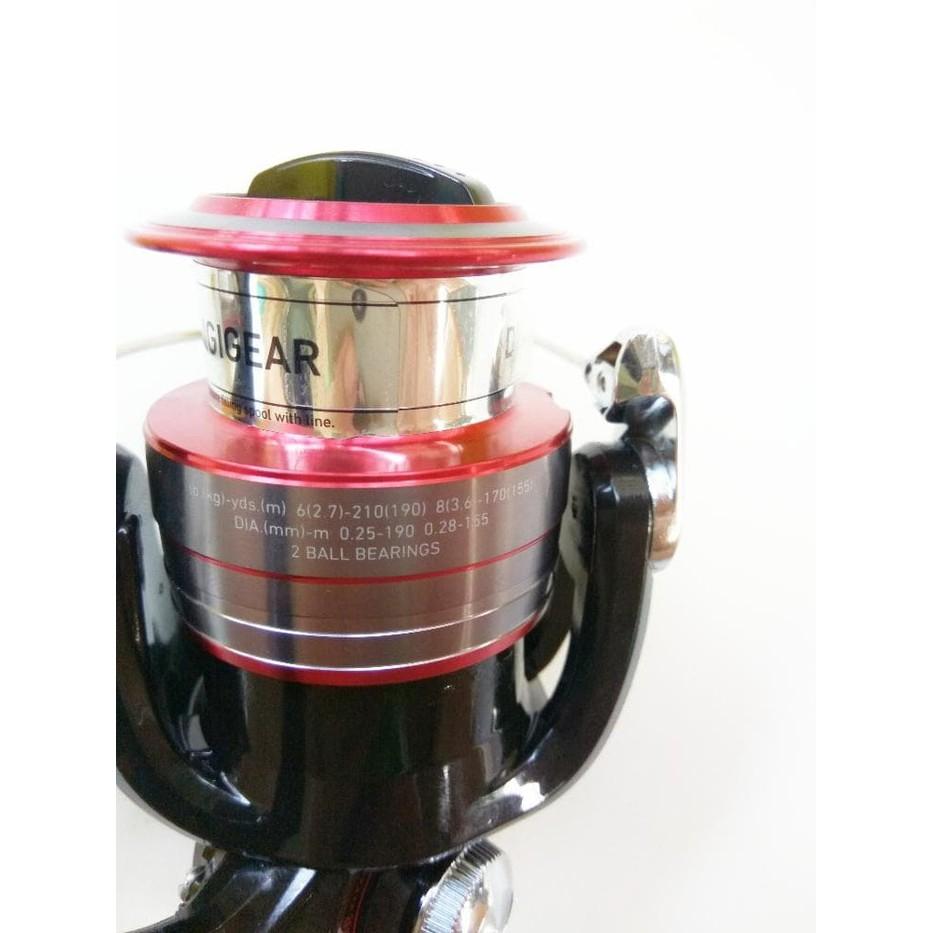 Promo Reel Daiwa Rx 3000 Bi Shopee Indonesia 2500bi 3000bi