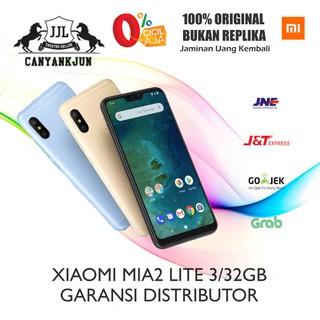 XIAOMI MI A2 LITE 4/64GB BNIB NEW ORI ANDROID ONE GARANSI DISTRIBUTOR 1  TAHUN