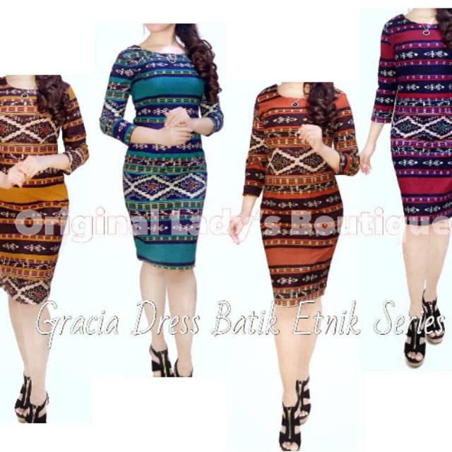 Lonceng DRESS   Kemeja Tenun Stretch Premium  6c6bdcec1f