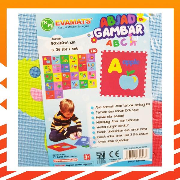 Bahan Lengkap Untuk Model Menggambar A B C D Puzzle Matras Evamat Abjad Gambar Abc Huruf 30x30 Evamats Alas Lantai Playmat Tikar Karpet Shopee Indonesia