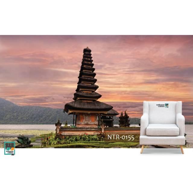 Wallpaper custom 3D Nature Bali tradisional