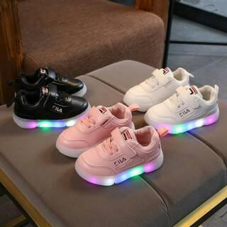 Sepatu Anak LED 21-30 LED Sneakers
