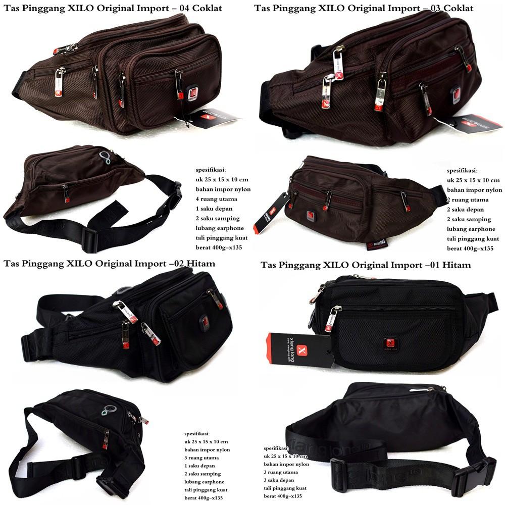 Tas Pinggang Pria Xilo Original Import Shopee Indonesia 1 Gratis Tactical Military Outdoor Bag Cowok Army Militer
