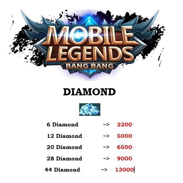 Lapak 24 Jm Online Diskon Diamond Mobile Legends 6 44 Diamond Shopee Indonesia