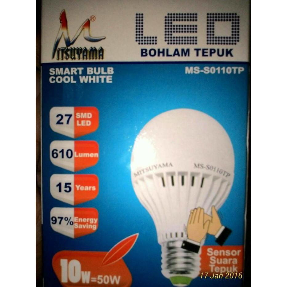 Lampu LED Sensor Tepuk Bohlam LED Sensor Suara 10 Watt | Shopee Indonesia