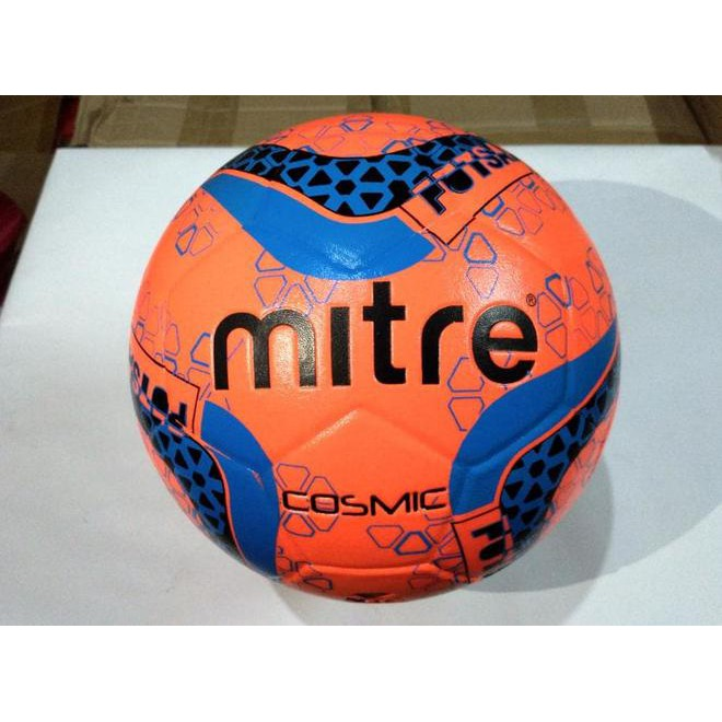 Bola Futsal Mitre Smu Cosmic Futsal Yellow Blue BB1969YLE Original ... e45e0aa88df6d