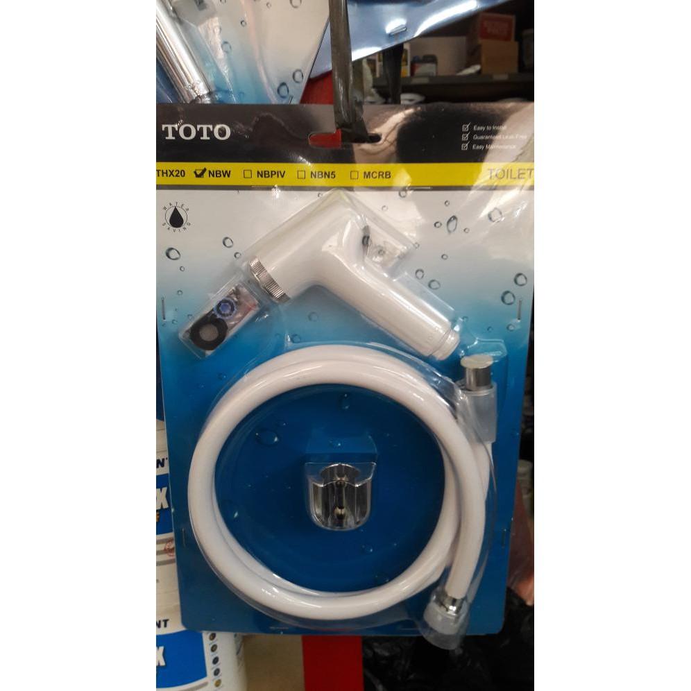 Toto Thx20nbw Daftar Harga Terbaru Dan Terlengkap Indonesia Tx403sb Shower Spray With Stop Valve Ivory Jet White Best Quality Central T Shopee