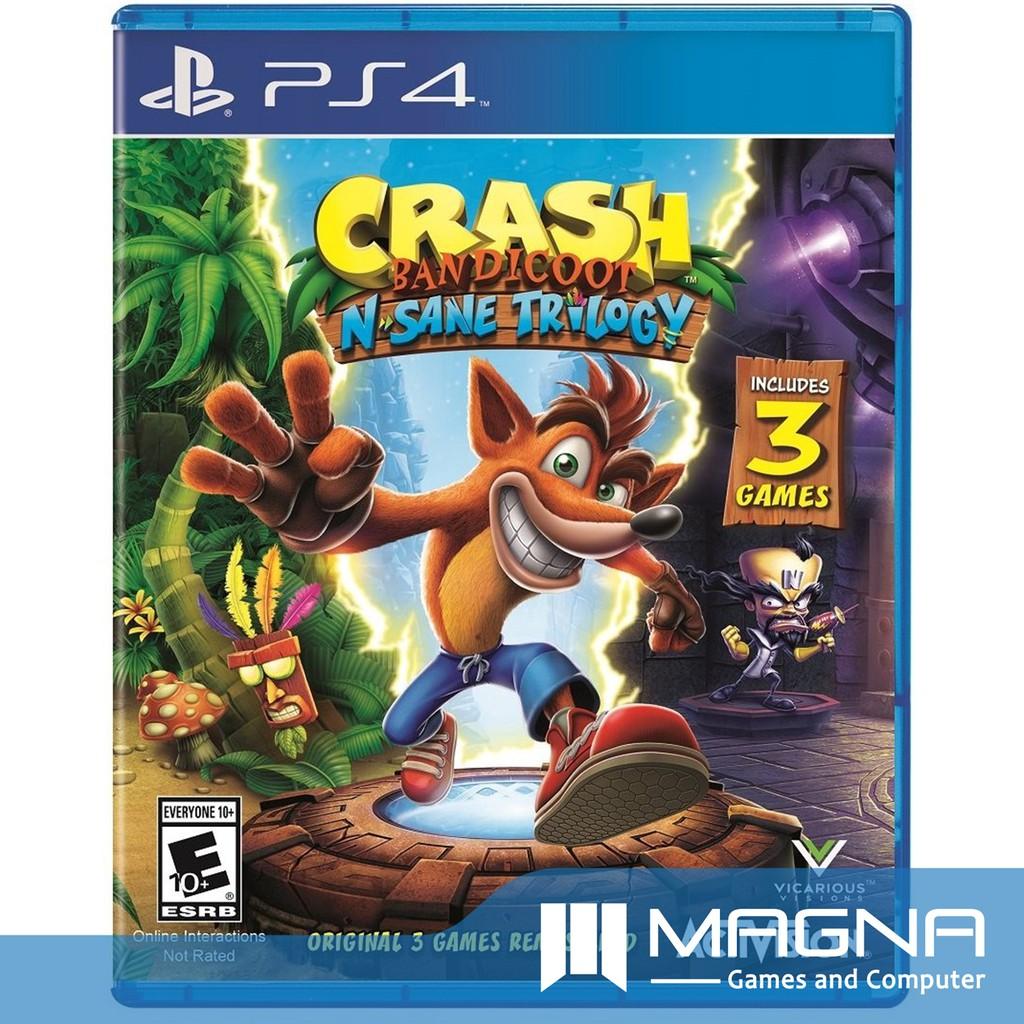Ps4 Game Crash Bandicoot N Sane Trilogy Socks Bundle Shopee The Witcher 3 Wild Hunt Of Year Edition Reg3 English Indonesia