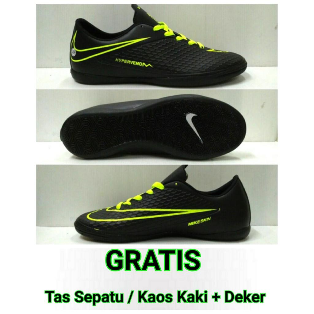sepatu futsal anak nike hypervenom phelon yellow original  f8e41c5167
