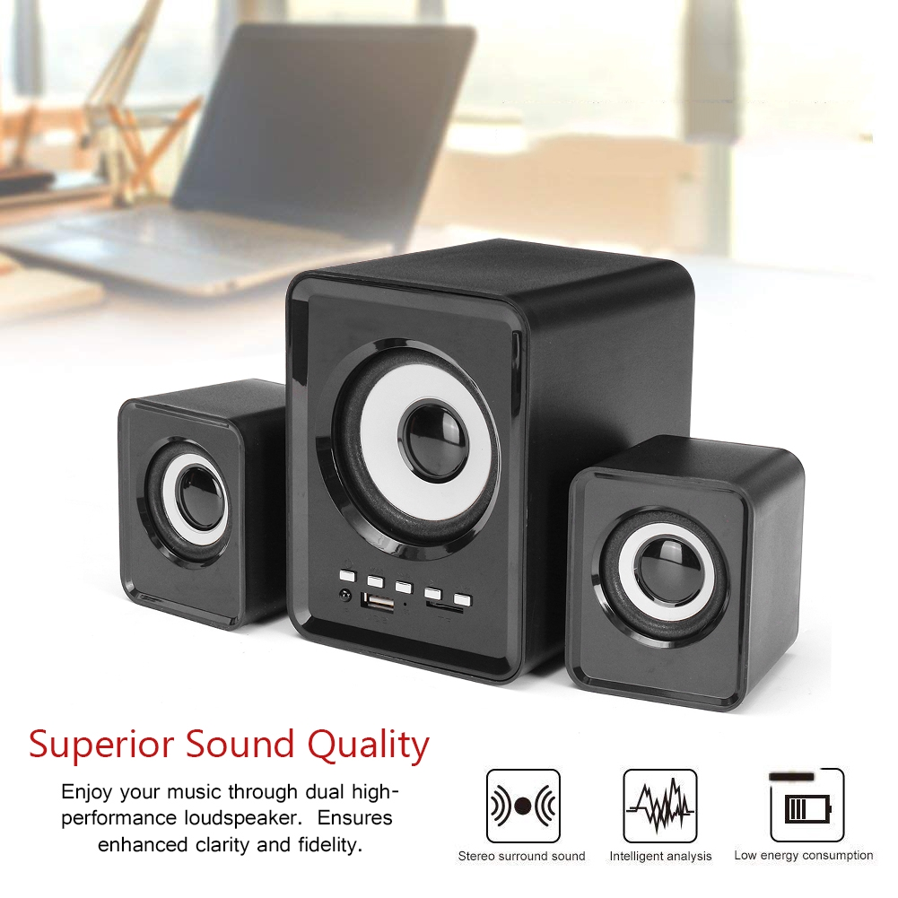 MINI LED Portable Bluetooth MP3 Speaker TF USB Music Sound Subwoofer Wireless US