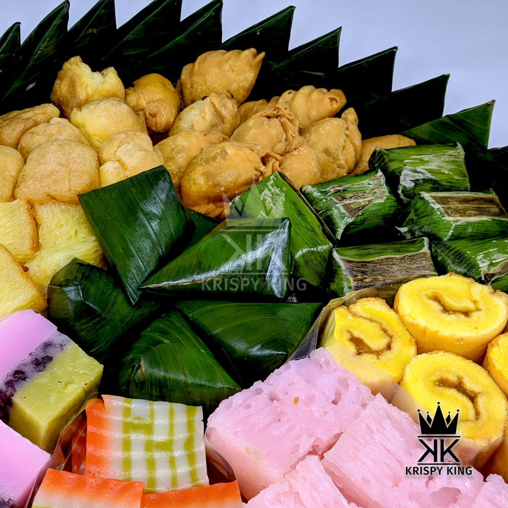 Tumpeng Kue Basah Mini Tradisional Premium Selamatan Kenduri Ulang Tahun Ukuran Kecil Small