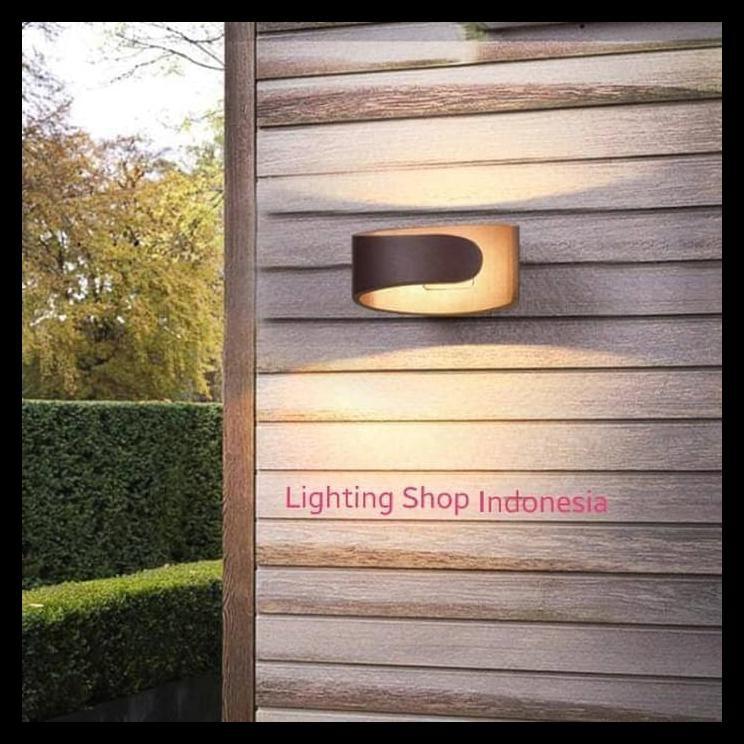 Cuci Gudang H227 Lampu Dinding Taman Led 9w Waterproof Pagar Wall Lamp Outdoor Shopee Indonesia