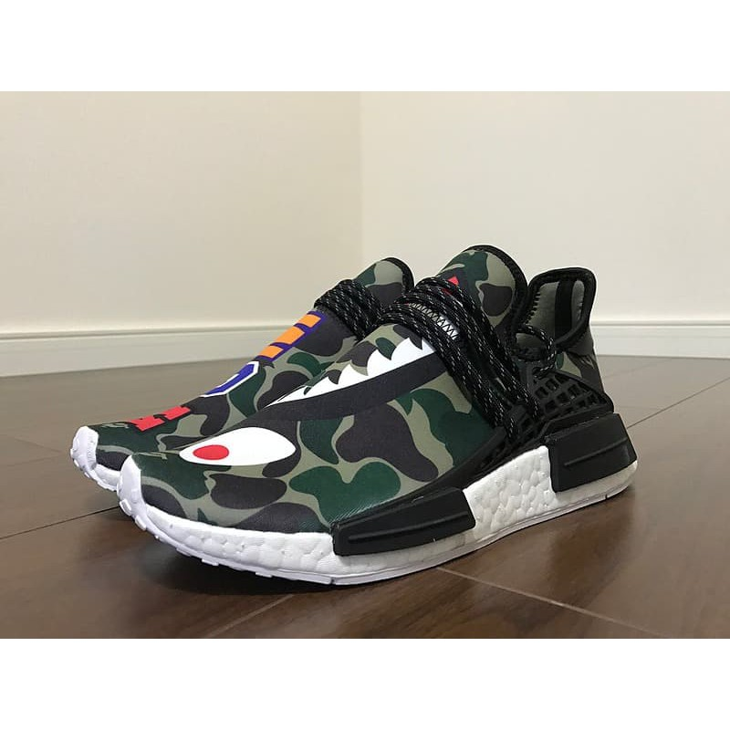 16d8f2162405f Adidas Bape X Adidas NMD Human Race Unauthorized Authentic UA ...