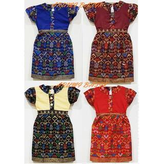 Dress Dres Terusan Baju Seragam Batik Anak Perempuan 1891 Balita Tk Sd