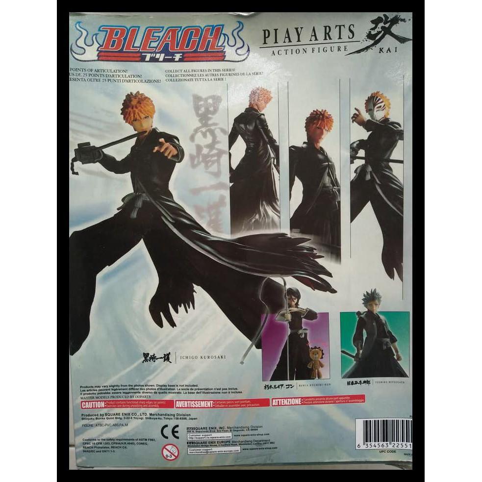 SPECIAL Play Arts Kai Ichigo Kurosaki BLEACH Figure Anime Square Enix NEW MIB
