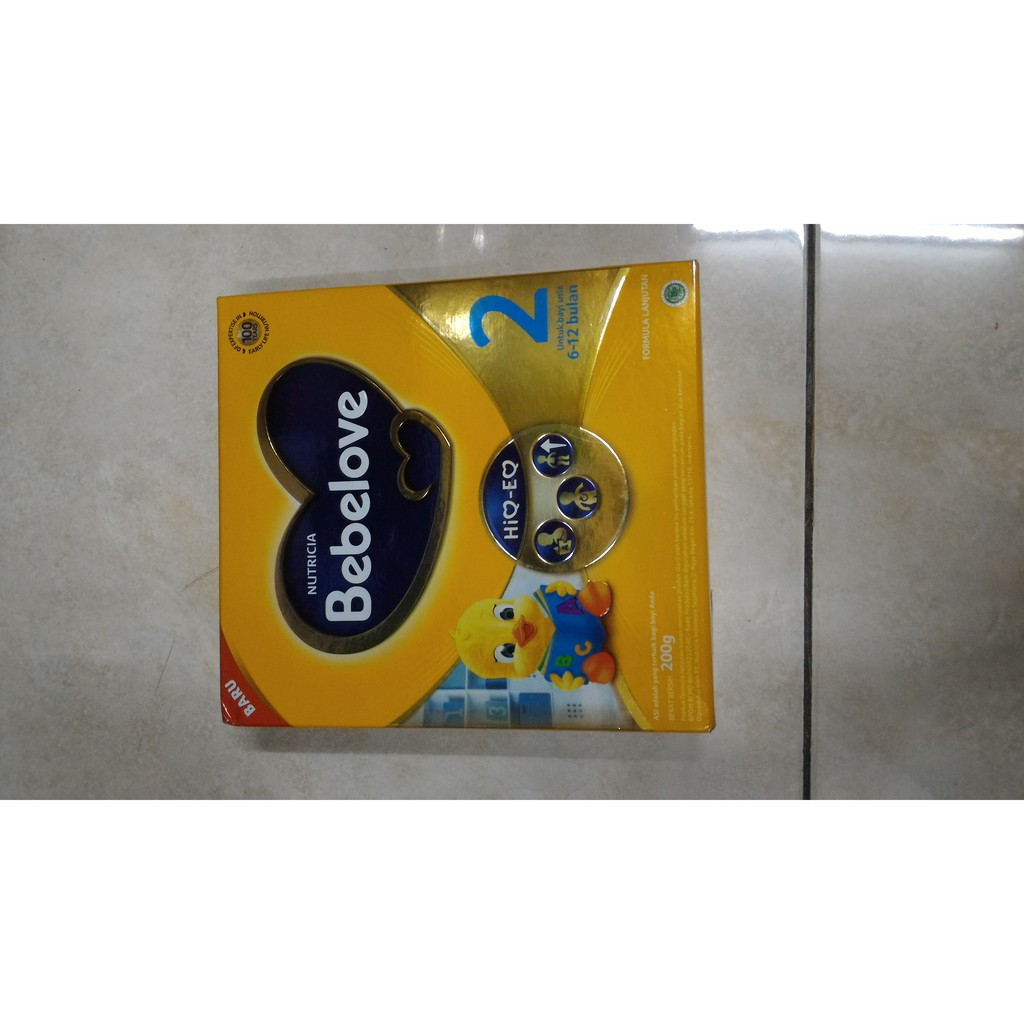 Terbaru Bebelove 1 1800gr Box Rajasusu Shopee Indonesia Tahap 200 Gram