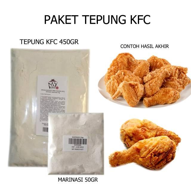 PAKET TEPUNG KFC 500GR - KENTUCKY FLOUR MIX - BUMBU AYAM ...