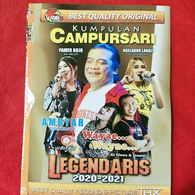 Kaset Mp4 Video Musik Kumpulan Lagu Legendaris Campursari Koplo