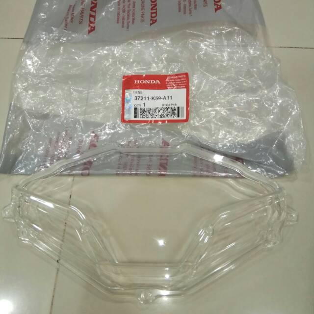 (Berkulitas) Mika Kaca Speedometer & Kilometer Supra X 125 Injeksi Fi Original Hond   Shopee Indonesia