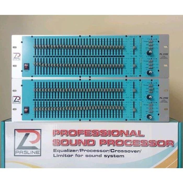 Equalizer Pasline PL-3102/ PL3102/ PL 3102 Original