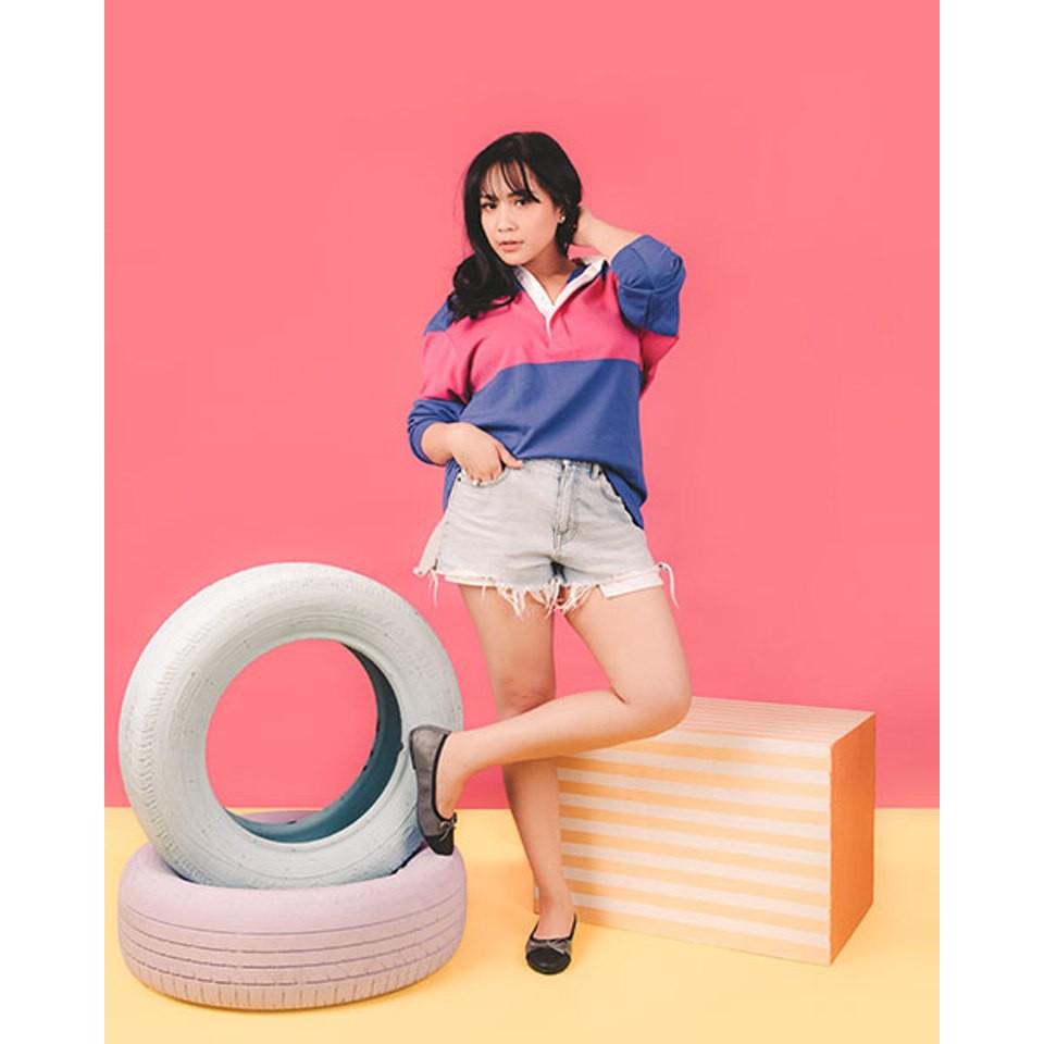 Gigibynagita Bella Hazelnut Mules Shopee Indonesia Amazara Corrine Black Glossy Flatshoes Hitam 39