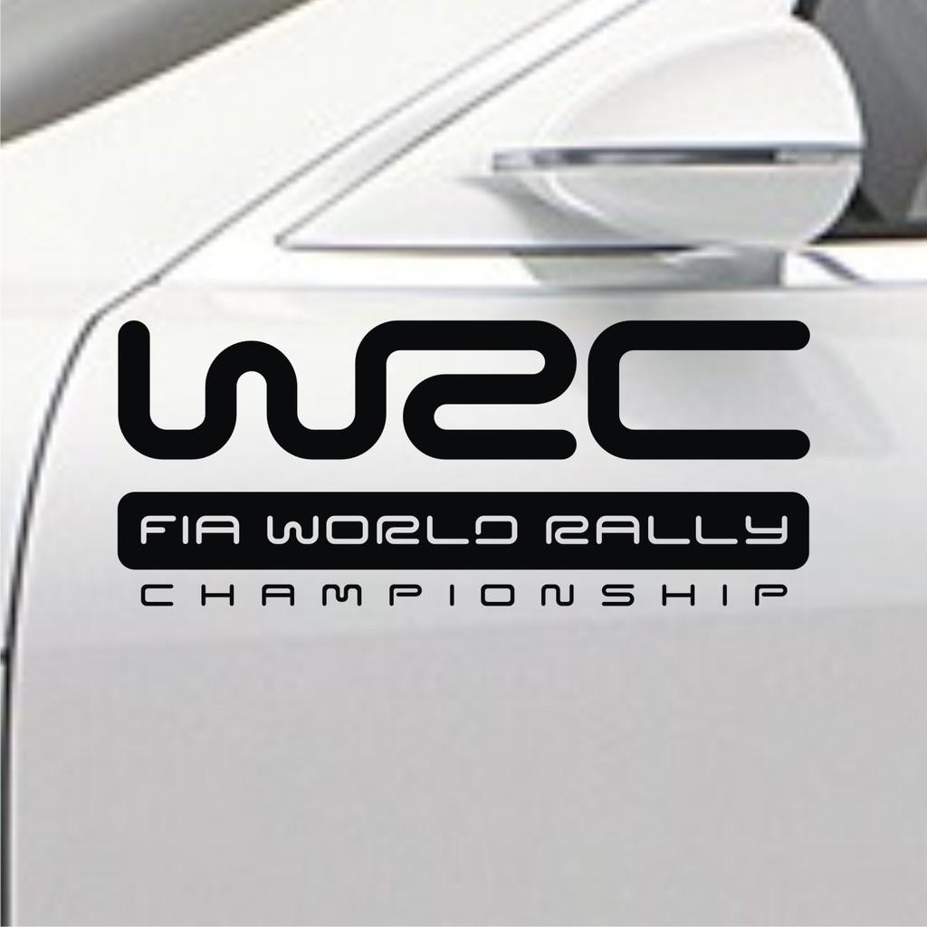 Sticker mobil racing otomotif modifikasi wrc variasi stiker mobil balap keren stiker pintu mobil