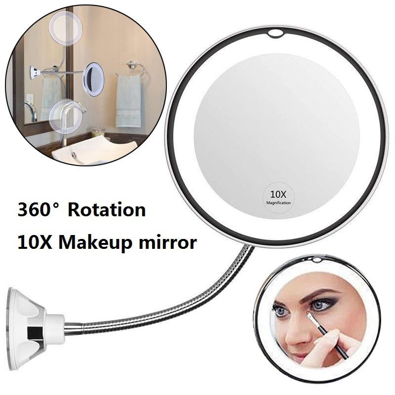10x Magnifying Led Lighted Makeup