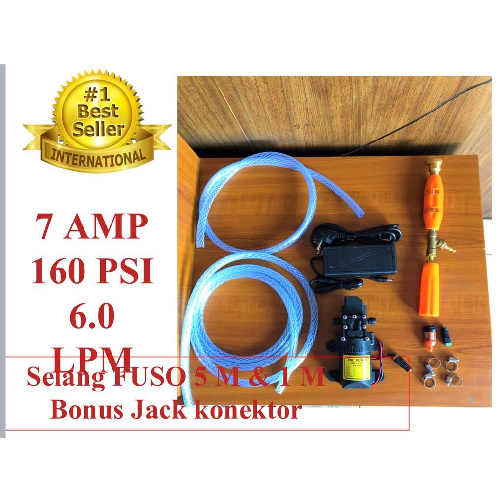 Alat Cuci Motor Mobil Elektrik AC Steam Jet Mini Pompa Doorsmeer LENGKAP | Shopee Indonesia