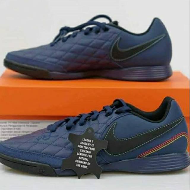 escanear modelo Azotado por el viento  Sepatu futsal Nike Tiempo Legend 7 Academy IC R10 Blue Navy 8147564285  Original | Shopee Indonesia