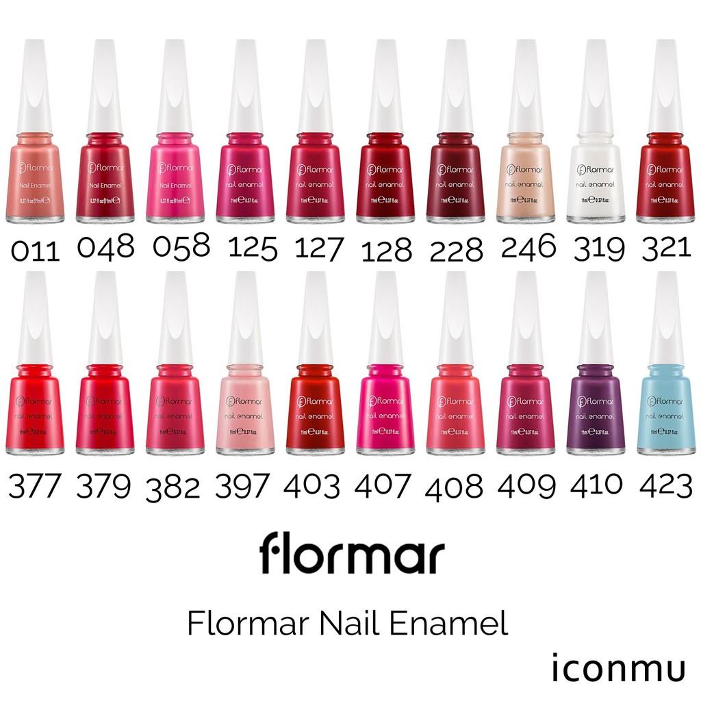 Nail Polish Arti Indonesia: Flormar Kutex Nail Enamel Nail Polish Dari Turki 011