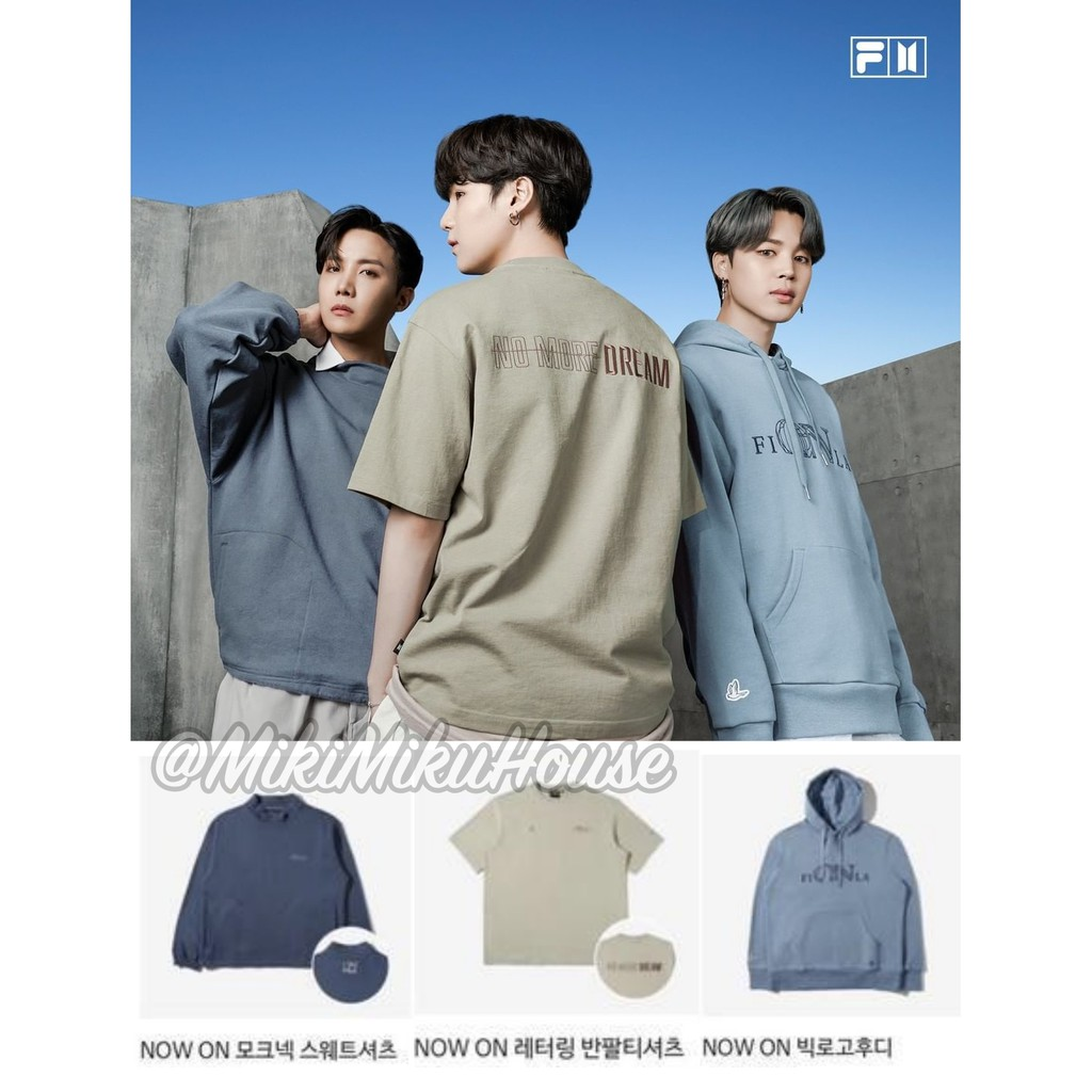 MASIH OPEN FILA BTS NOW ON COLLECTION 2021 BAJU SWEATER SWEATSHIRT HOODIE WAPPEN PHOTOCARD PC